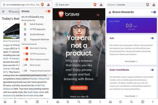 brave browser beta app