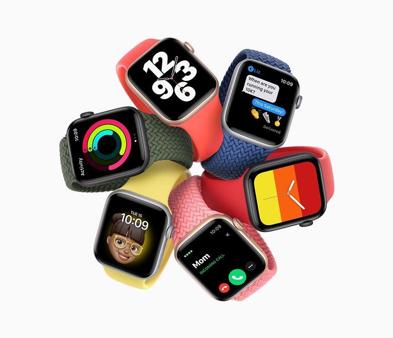 Apple представляет часы SE 09152020