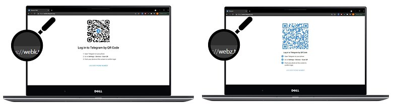 как телеграмм webk vs webk url