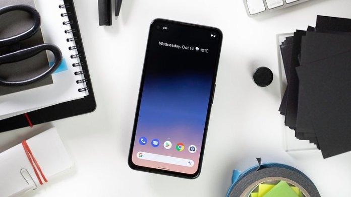 NextPit Google Pixel 4a 5G screen