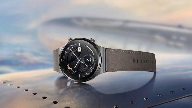 NextPit Huawei WATCH GT 2 Pro Vidar Titanium Body