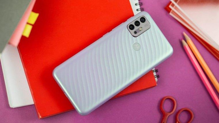 NextPit Motorola Moto G10 back