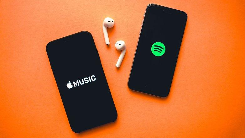NextPit Apple Music Spotify