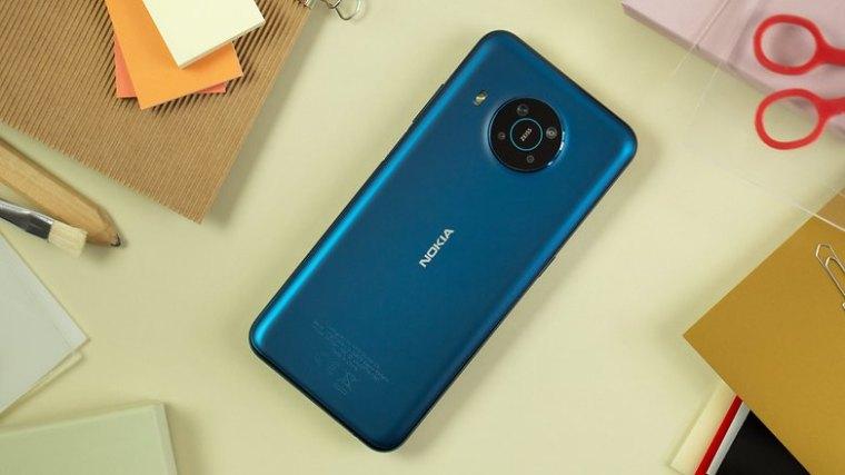 NextPit Nokia X20 back