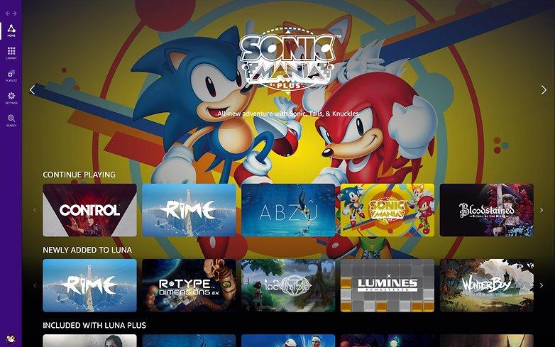 Amazon Luna Sonic