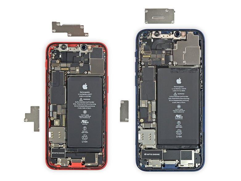 iPhone 12 mini Teardown Bild iFixit
