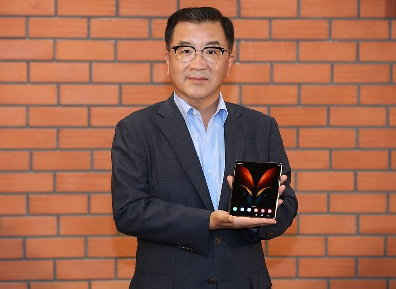 Ken Kang CEO Samsung SWA unveiling Galaxy Z Fold2 in India