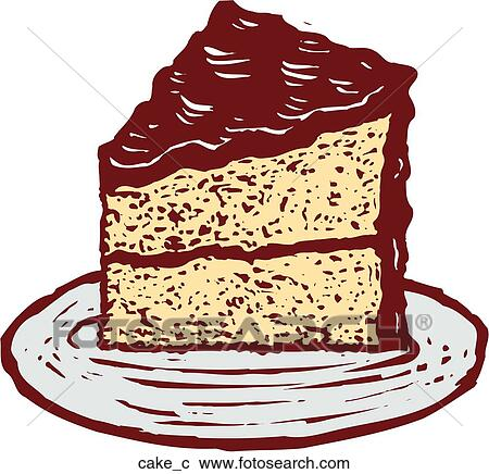 Clipart  kuchen cake_c  Suche Clip Art Illustration