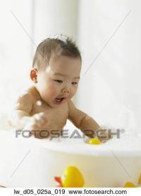 Stock Fotograf - baby- junge, spielender, in, dass ...