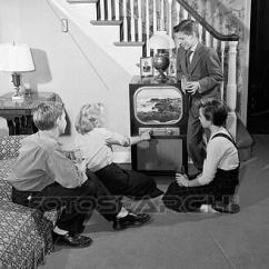 Kids Sofa Set Inclinable Usage A Vendre Stock Photo Of 1950s Teen Boys & Girls In Living Room ...