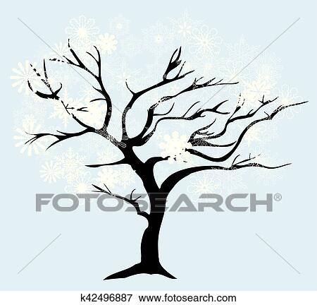 Png Clipart Clip Art Winter Tree Branch