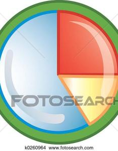 Drawing pie chart icon fotosearch search clip art illustrations wall posters also drawings of  rh