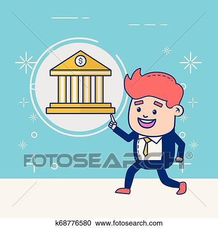 People Online Banking Clipart K68776580 Fotosearch