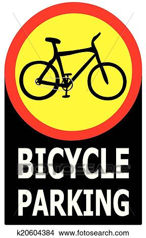 only bicycle parking area