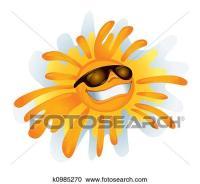 Stock Illustrations of Funky Sun (illustration) k0985270 ...