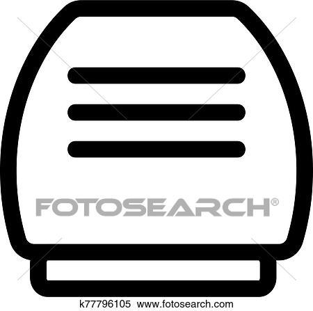 空氣. 使潔淨的人. 圖象. vector.. 被隔離. 外形. 符號. 插圖 剪圖Clipart | k77796105 | Fotosearch