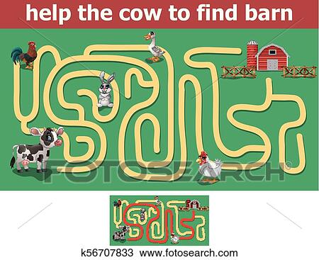 find the cow # 68