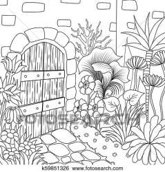 9 garden 3 Clip Art k59851326 Fotosearch