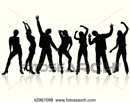 Clip Art of happy people k2967098 Search Clipart