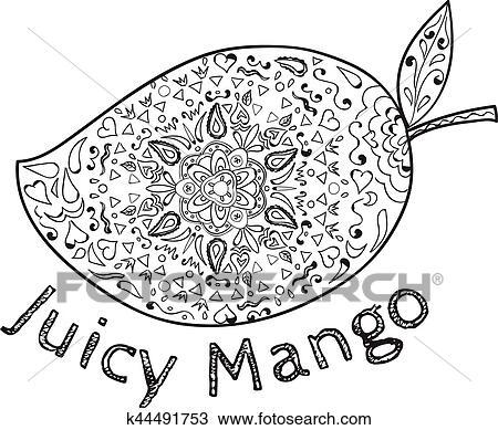 juicy mango black and