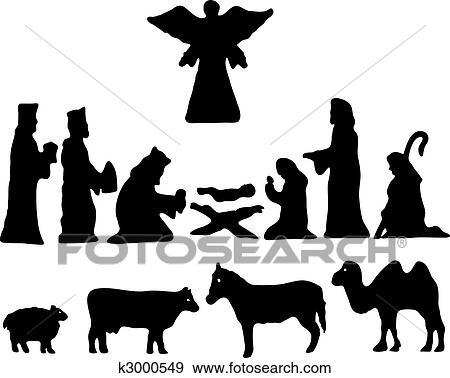 clip art - silhouette stern von