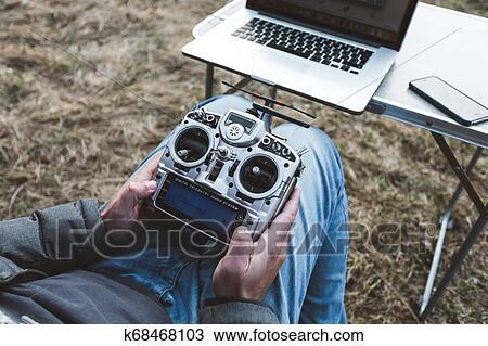 Fpv drone pilot. Stock Image   k68468103   Fotosearch