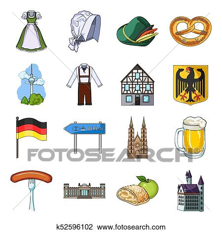 clip art of germany country architecture