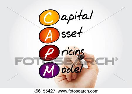 CAPM - Capital Asset Pricing Model acronym Stock Photo | k66155427 | Fotosearch