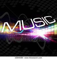 Drawings of Funky Music Montage k3649384 - Search Clip Art ...