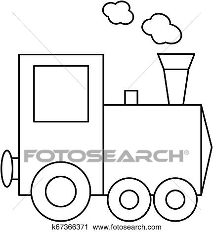 train coloring # 40