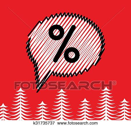 Sale doodle speech bubble box. Scribble sketch effect. Clip Art | k31735737 | Fotosearch