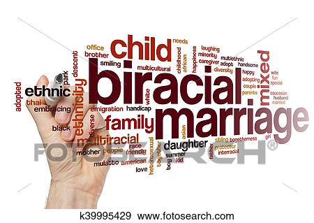 Download Biracial marriage word cloud Stock Illustration ...