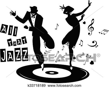 jazz clip art k33718189