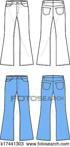 jeans clipart