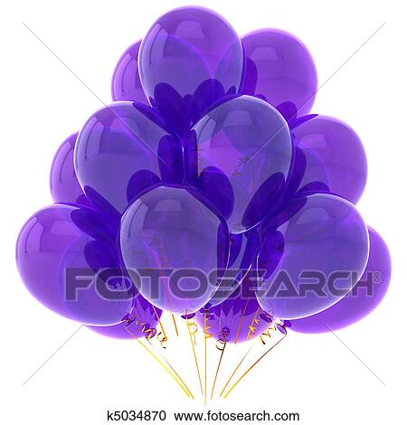 stock illustrations of purple party
