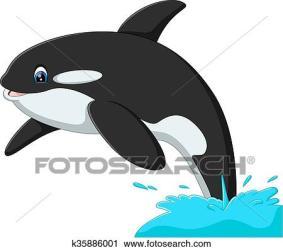 whale cute clipart fotosearch illustration cartoon