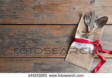 Romantic table menu background Stock Image k44253260 Fotosearch