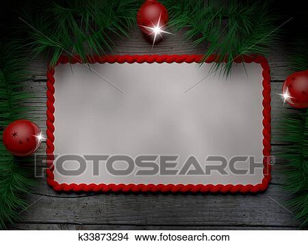 Christmas Label Stock Illustration K33873294 Fotosearch