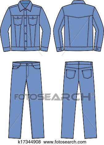 jeans wear clip art