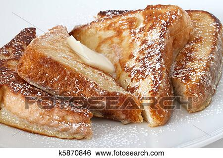Stock Images of french toast k5870846 Search Stock