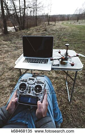 Fpv drone pilot. Stock Photography   k68468135   Fotosearch