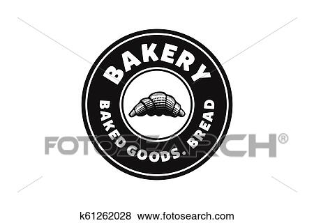 Pastries Vintage Bakery Shop Logo Designs Inspiration Vector