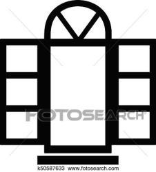Simple Window Clipart