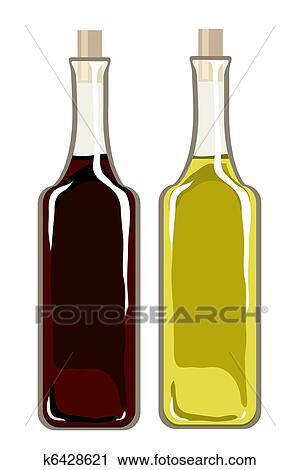 Clipart  olio oliva e aceto balsamico k6428621  Cerca Clipart Illustrazioni murali Disegni e Immagini grafiche EPS vettoriali  k6428621eps
