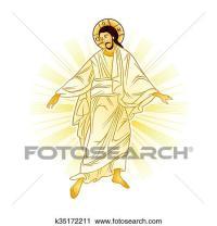 Clipart - risurrezione, di, ges k35172211 - Cerca Clipart ...