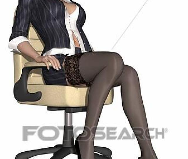 D Render Of A Hot Sexy Teacher