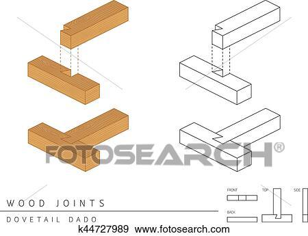 Dado Joint Drawing
