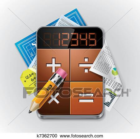 clipart of vector calculator xxl