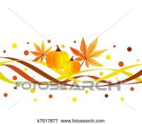 Stock Illustration of Funky fall design k7617877 - Search ...