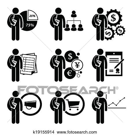 Clipart of Degree in Business Management k19155914